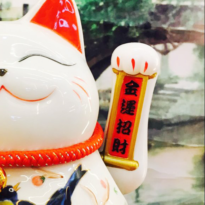 mèo vẫy tay niên niên phát tài 9009
