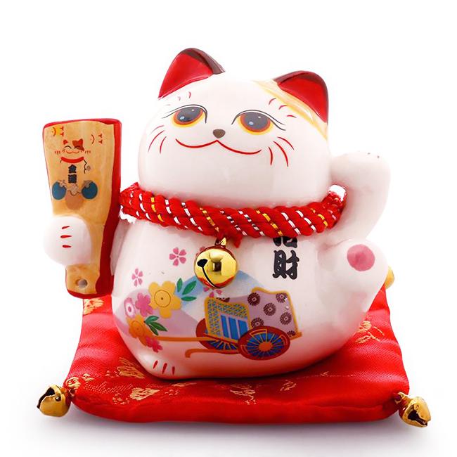 Mèo thần tài cầu phúc