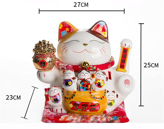 Mèo vẫy tay-Đại phú đại quý