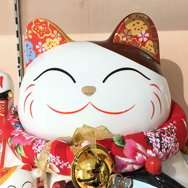 Mèo vẫy tay - Kim vận chiêu lộc 32cm
