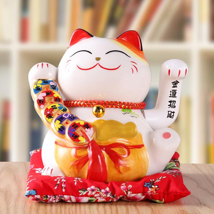 Mèo vẫy tay Tiền Bạc Rủng Rỉnh