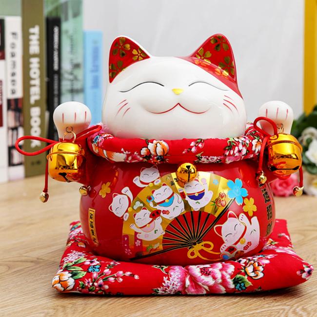 Mèo thần tài Kim Vận Chiêu Tài