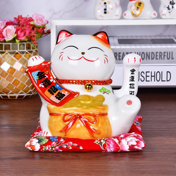 Mèo vẫy tay chiêu tài chiêu phúc