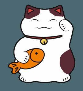 minh họa của Maroki neko với cá chép