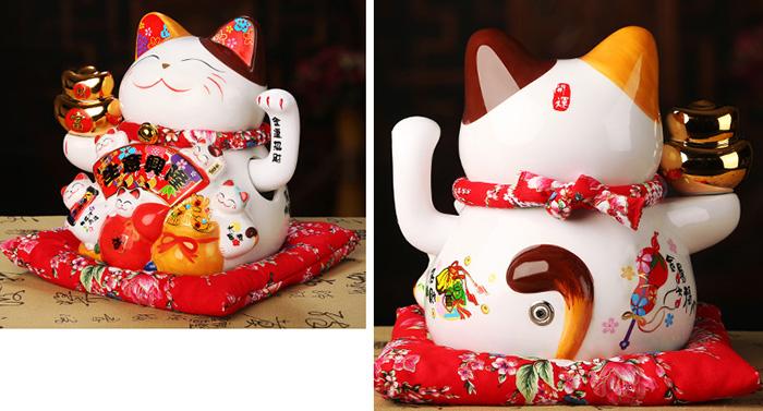 Mèo vẫy tay làm ăn phát tài size nhỏ