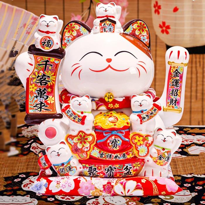 Mèo vẫy tay Phát tài phát lộc phát bình an