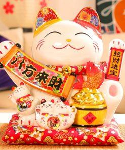 Mèo tay vẫy Phú Quý Vô Biên