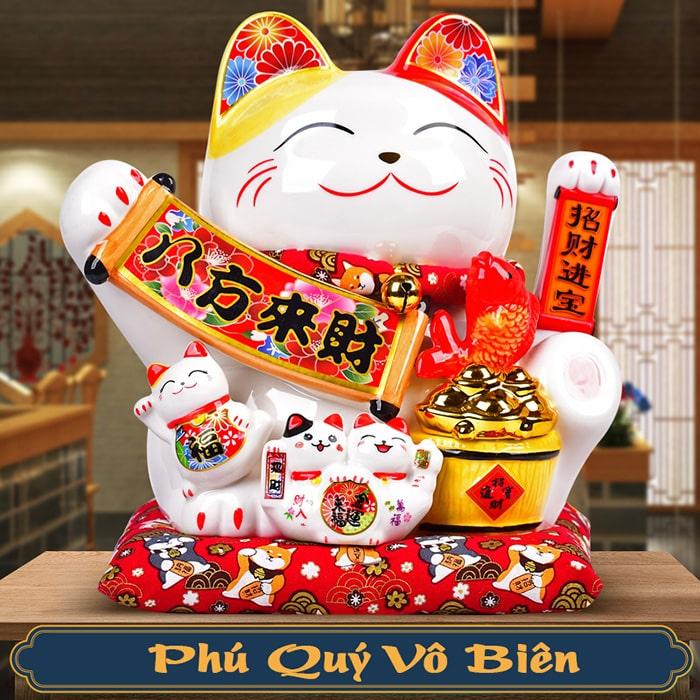 Mèo vẫy tay Phú Quý Vô Biên